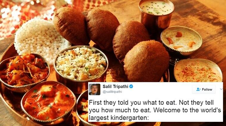 pm modi, pm modi mann ki baat, government fixes food rates at restaurants, govt fixes prices of dishes at restaurants and five stars, twitter reactions viral, trending in india, indian express, indian express news
