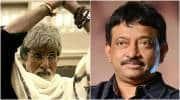 Ram gopal varma, Amitabh bachchan, sarkar 3, RGV Amitabh bachchan, RGV Amitabh bachchan sarkar 3 pics