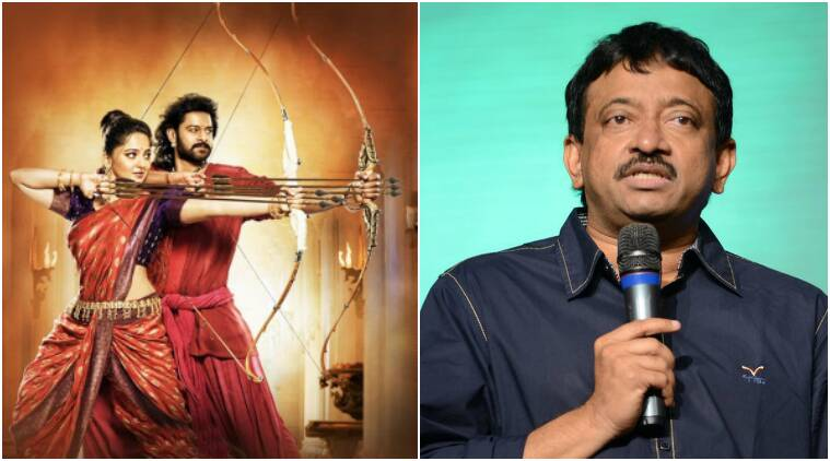 ram gopal varma, ram gopal varma baahubali, baahubali 2, baahubali 2 news, baahubali 2 release, baahubali the conclusion, baahubali 2 ram gopal varma, entertainment updates, indian express