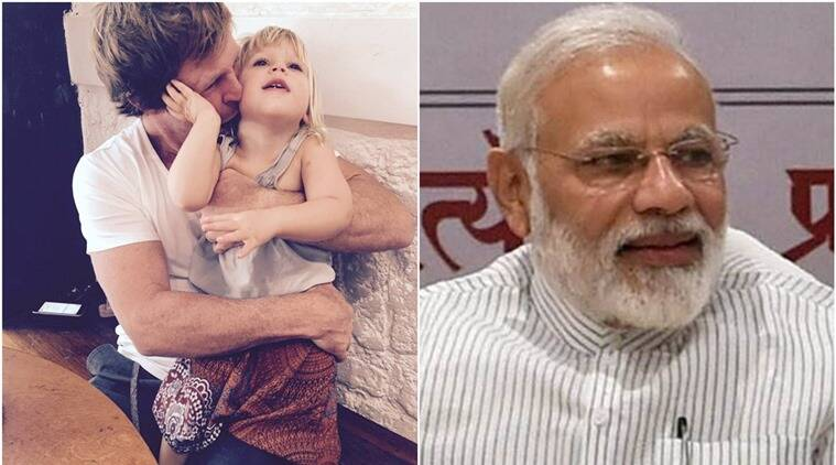'Happy Birthday India, From India'. PM Modi Wishes Jonty Rhodes' daughter