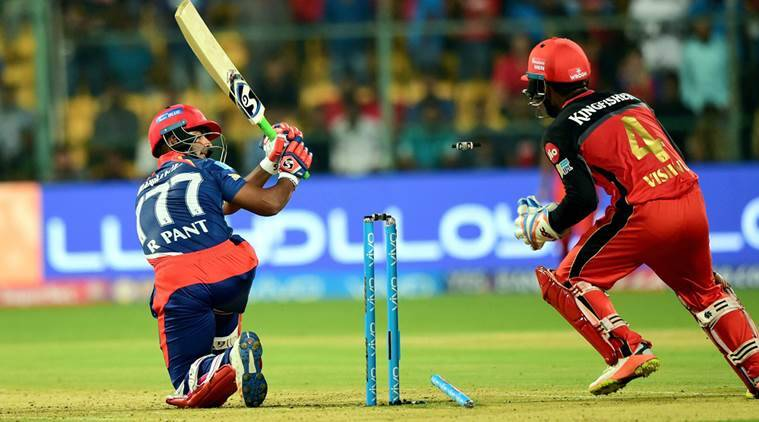 ipl 10, ipl 2017, delhi daredevils, dd, rcb, royal challengers bangalore, delhi daredevils vs royal challengers bangalore, dd vs rcb, rcb vs dd, rishabh pant, pant, kedar jadhav, cricket news, cricket, sports news, indian express
