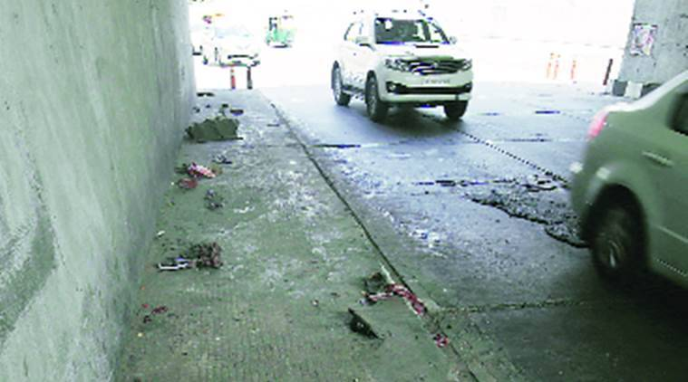 One killed after Class XII student runs car over people on foorpath