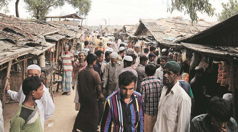 Jammu and kashmir, Rohingya Muslims, Rohingya Muslims in J&K, Bangladeshi nationals, Bangladeshis in Jammu and kashmir, migrants, migrants in jammu, muslims, Rohingyas, Jammu traders, Kashmir association, J-K, Jammu and kashmir news, india news, indian express news