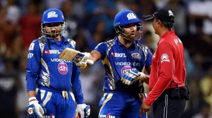 Rohit fined 50 per cent match fee for dissent