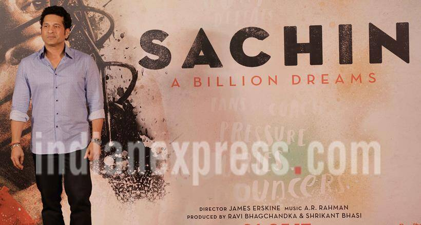 Sachin A Billion Dreams trailer, sachin biopic, sachin tendulkar, sachin tendulkar film, sachin tendulkar bcci, bcci on sachin biopic, bcci on sachin tendulkar biopic, india news, sports news, indian express news