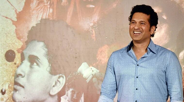 Here's the first look from Sachin Tendulkar's Biopic