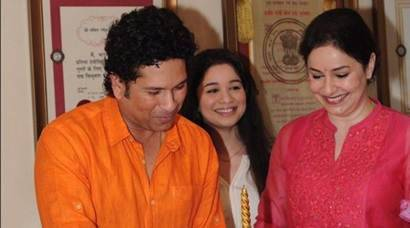 Sachin Tendulkar turns 44: Glimpse into unseen pics with family