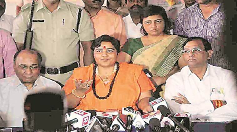 MP: Sadhvi Pragya says she fell prey to Congress conspiracy