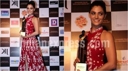 Saiyami Kher receives Dadasaheb Phalke Excellence Award for her role in Mirzya