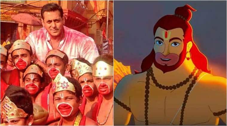 Hanuman Da Damdaar, Hanuman Da Damdaar trailer,Hanuman Da Damdaar salman khan, salman khan hanuman, salman khan bajrangi bhaijaan, raveena tandon, javed akhtar, kunal kemmu, hanuman film