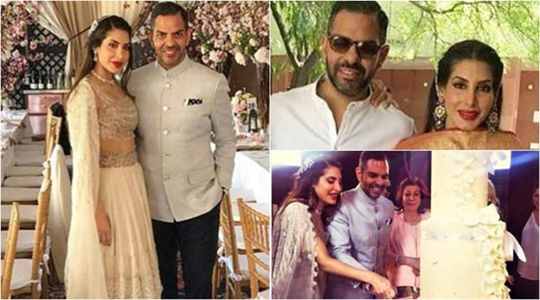 Karisma's ex-husband Sunjay Kapur throws a grand wedding reception, see pictures