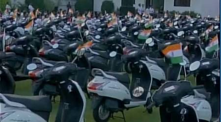 Gujarat: Diamond firm buys scooters for wives of employees