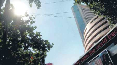 Sensex takes to caution, slips 68 points