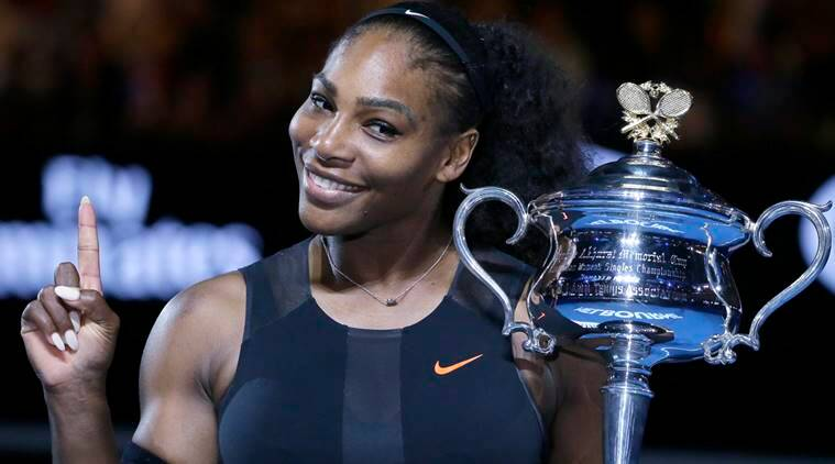 Serena Williams at No. 1 despite not playing since January