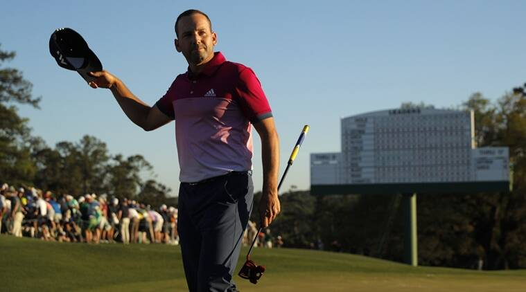 Sergio Garcia, Sergio Garcia news, Sergio Garcia updates, Justin Rose, Justin Rose news, Augusta National, sports news, sports, golf news, Golf, Indian Express