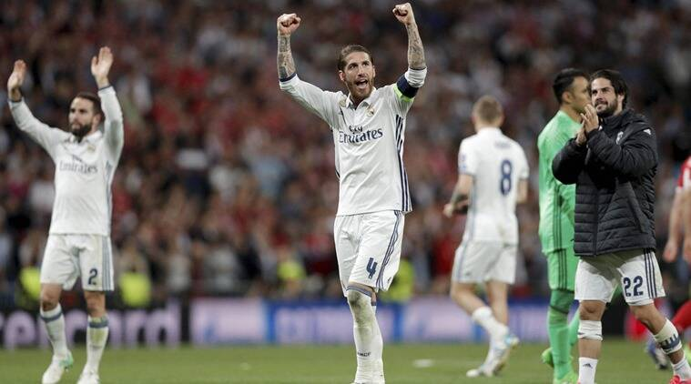 Sergio Ramos, Sergio Ramos Real Madrid, Real Madrid Sergio Ramos, Gerard Pique, Gerard Pique Barcelona, Barcelona Gerard Pique, sports news, sports, football news, Football, Indian Express