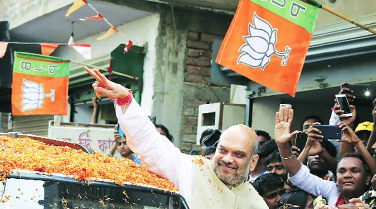 On 'Mission West Bengal', Amit Shah visits Mamata's home turf