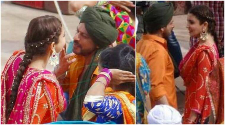 shah rukh khan, anushka sharma, imtiaz ali, the ring, shah rukh khan anushka sharma, shah rukh khan anushka sharma punjabi dance, shah rukh khan sikh look, shah rukh khan baisakhi song, shah rukh khan festive songs, shah rukh khan imtiaz ali, shah rukh khan punjab, anushka sharma punjab, imtiaz ali shoot in punjab