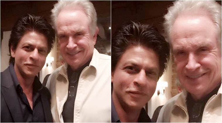 indianexpress.com - Shah Rukh Khan had his own fanboy moment when he met Hollywood icon Warren Beatty, see pic