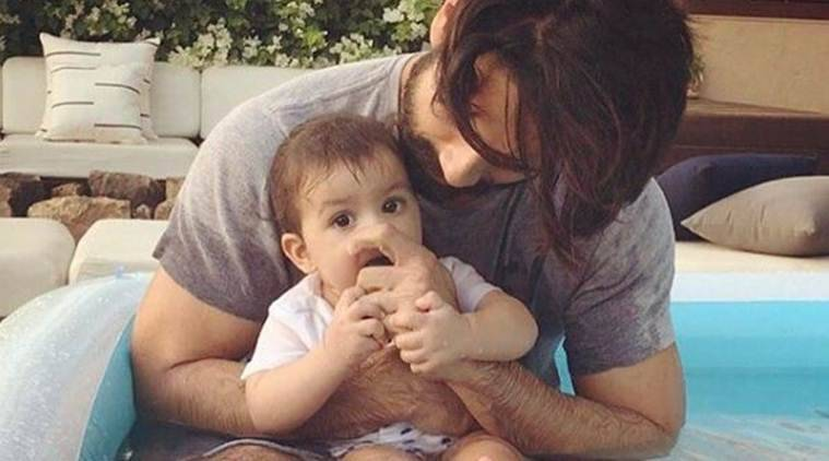 Shahid Kapoor Spends Time In The Pool With His DaughterMisha