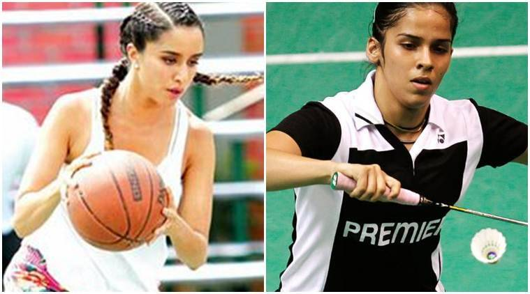 Shraddha Kapoor Is Playing Saina Nehwal In Biopic Feel Lucky To  Shraddha Kapoor Sania Nehwal Shraddha Sania Shraddha Kapoor Badminton  Shraddha Kapoor Basketball