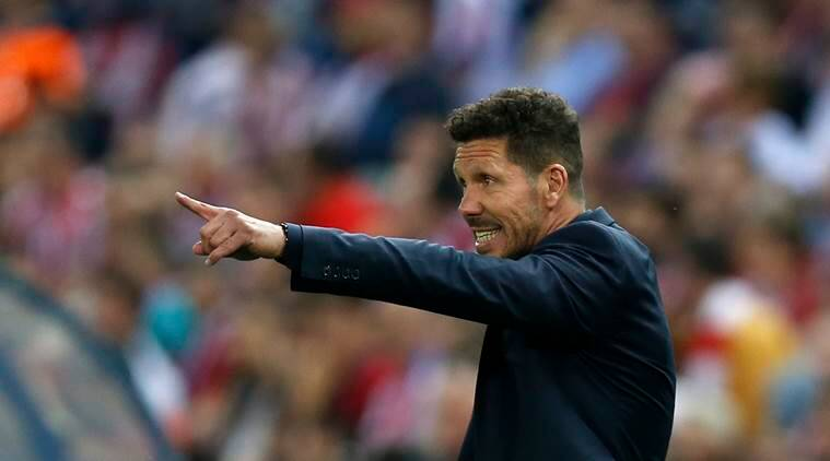 Atletico Madrid, Leicester City, Atletico vs Leicester, Leicester, Atletico, Madrid, Champions League, Champions League quarterfinals, UEFA Champions League, Diego Simeone, football news, sports news, Indian Express