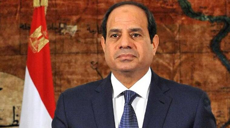 us arab islamic summit 2017, arab islamic summit riyadh, sisi at us arab islamic summit, egyptian president at us arab islamic summit, donald trump, world news, middle east news, indian express