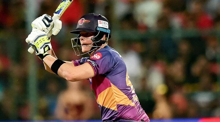 Steve Smith, Steve Smith Rising Pune Supergiant, Rising Pune Supergiant, Steve Smith batting, IPL 2017, IPL news, sports news, sports, cricket news, Cricket, Indian Express