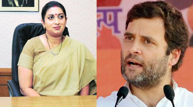 Congress Vice President Rahul Gandhi, Smriti Irani, Amethi, Amethi constituency, Rahul Gandhi and Amethi constituency, Rahul Gandhi news, Latest news, India news, National news, Congress and BJP news, Latest news, India news