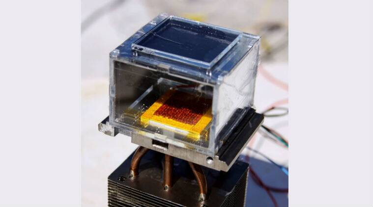 Solar powered harvester, MIT, harvesting water from low humidity, personalised water, Lawrence Berkeley National Laboratory, Prototype, concept harvester, efficient than exisisting technologies, Science, Science news