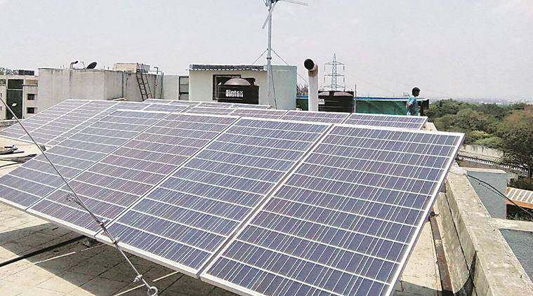 floating solar projects, 10 MW floating solar projects, solar energy, NTPC Kerala, Andhra Pradesh solar projects, business news, indian express news