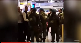 Soldiers Of The Indian Army On A UN Mission Being Applauded At IGI Airport