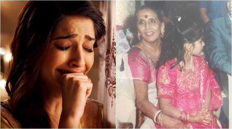 Sonam Kapoor's grandmother passes away, the actress posts an emotional photo montage