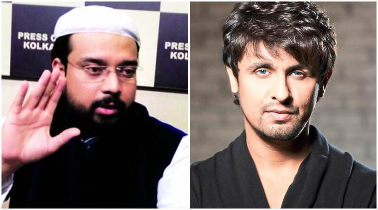 sonu nigam azaan, sonu nigam fatwa, Syed Sha Atef Ali Al Quaderi, sonu nigam Syed Sha Atef Ali Al Quaderi, Syed Sha Atef Ali Al Quaderi fatwa against sonu nigam, sonu nigam 10 lakhs, sonu nigam shave, sonu nigam bald, priyanka chopra azaan, priyanka chopra on azaan, sonu nigam loudspeaker ban, sonu nigam anti muslim, sonu nigam muslims, pooja bhatt sonu nigam, sonu nigam new tweets, bollywood news, bollywood updates, entertainment news, indian express, indian express news