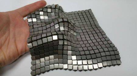 NASA, 3D printed metal fabrics, foldable fabric, chain mail prototypes, additive manufacturing, 3D printing, 4D printing, NASA JPL, NASA Jet Propulsion Laboratory, space fabrics, thermal control, Science, Science news