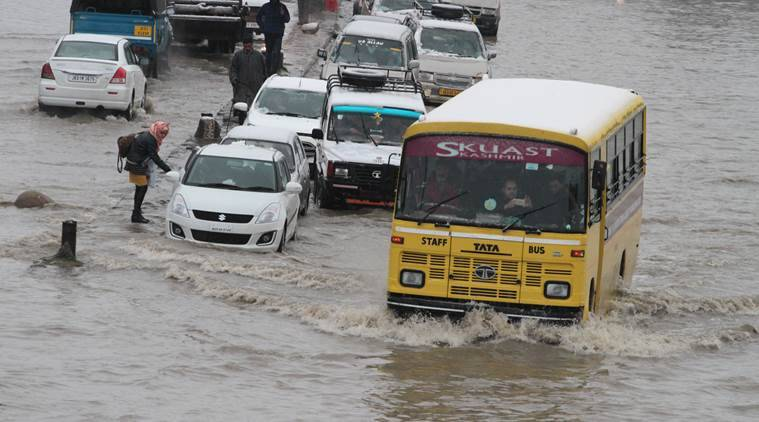 kashmir, kashmir floods, kashmir rains, kashmir news, latest news, indian news, indian express news