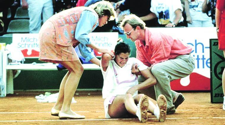 Arantxa Sanchez-Vicario, Arantxa Sanchez-Vicario, tennis Arantxa Sanchez-Vicario, Monica Seles, seles arantxa, tennis news, sports news, indian express news