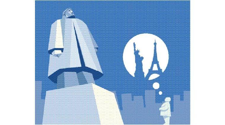 shivaji memorial, shivaji statue, chhatrapati shivaji, bombay high court, noida dalit prarthna sthal, mayawati, indian express