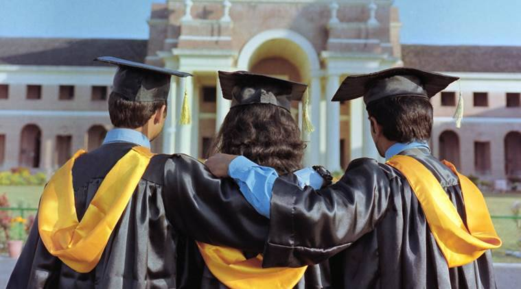 iift, convocation gown, iift.edu, iift convocation, graduate gowns, graduation, education news, iit kanpur, iit, indian express