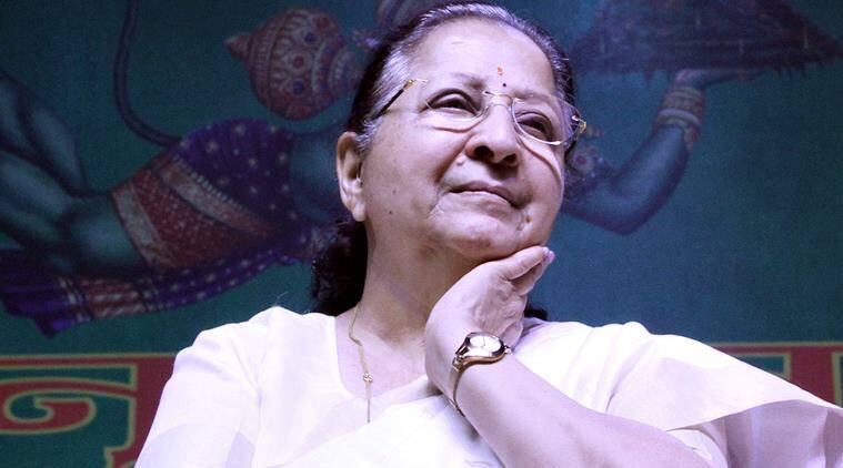 sumitra mahajan, presidential elections, Indian presidential elections, Indian presidential candidates, speaker sumitra mahajan, sumitra mahajan presidential candidate, who is sumitra mahajan, India news, Indian Express