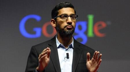Google CEO Sundar Pichai, Sundar Pichai, Google, Google CEO News, Google Sundar Pichai, Sundar Pichai Google, Sundar Pichai's Compensation, Technology News, Latest Technology News, Indian Express, Indian Express News