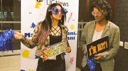 sunil grover, sunny leone, sunny leone sunil grover, sunny sunil masala commentary , sunil grover cricekt commentary,