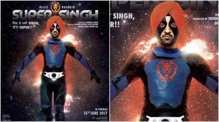 Diljit Dosanjh, Super singh movie, diljit dosanjh first look, first look super singh Diljit Dosanjh, super singh Diljit Dosanjh first look,