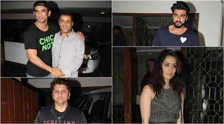 Half Girlfriend writer Chetan Bhagat birthday: Arjun Kapoor, Shraddha Kapoor, Sushant Singh Rajput and others party. See pics