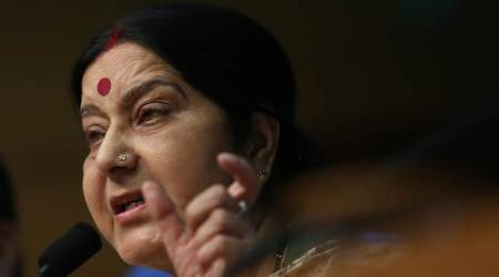 Both India, China should pull back troops for talks: Sushma Swaraj in Parliament