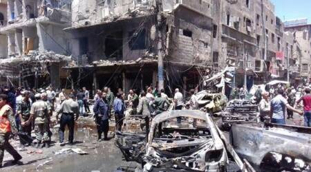 Baghdad car bomb attack, Baghdad Attack, suicide car bomb attack Baghdad, Car Bomb Attack Baghdad, World News, Latest World News, Indian Express, Indian Express News