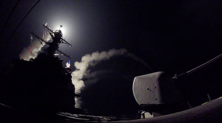 Syria attack, us strikes syria, US missile attack Syria, Syria missile attack, Syria chemical attack, syria us attack, us attacks syria, us missile strike syria, syria news, russia us syria, world news