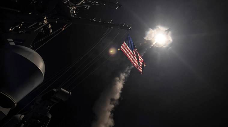Syria attack, US missile attack on Syria, Syria missile attack, Syria chemical attack, opinions on US attack on Syria, Donald Trump, Theresa May, world news, indian express news