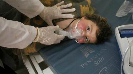 Chemical weapons watchdog says Sarin traces in Syria attack