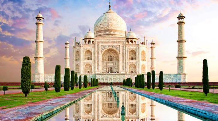 Image result for Taj Mahal finds place in U.P. government's 2018 calendar,